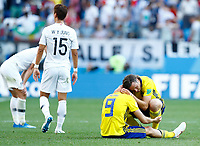 Marcus Berg and Gustav Svensson (Sweden) celebrate and koreans disappointment<br /> Nizhny Novgorod 16-06-2018 Football FIFA World Cup Russia  2018 <br /> Sweden - South Korea / Svezia - Corea del Sud <br /> Foto Matteo Ciambelli/Insidefoto