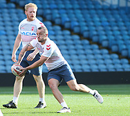 Josh Hodgson during the England Rugby League captain's run ahead of the 3rd Autumn International Series Match at Elland Road, Leeds<br /> Picture by Stephen Gaunt/Focus Images Ltd +447904 833202<br /> 10/11/2018