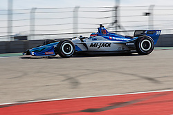 February 12, 2019 - U.S. - AUSTIN, TX - FEBRUARY 12: Takuma Sato (30) in a Honda powered Dallara IR-12 at turn 1 during the IndyCar Spring Training held February 11-13, 2019 at Circuit of the Americas in Austin, TX. (Photo by Allan Hamilton/Icon Sportswire) (Credit Image: © Allan Hamilton/Icon SMI via ZUMA Press)
