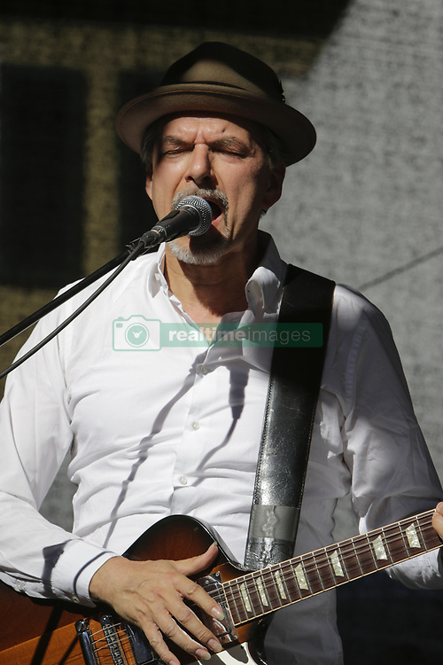 "June 18, 2017 - Worms, Rhineland-Palatinate, Germany - Michael ""Kosho"" Koschorreck from the German band COBODY performs live on stage at the 2017 Jazz and Joy Festival in Worms. (Credit Image: © Michael Debets/Pacific Press via ZUMA Wire)"