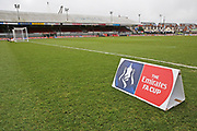 Newport County ground Rodney Parade  before the The FA Cup 4th round match between Newport County and Tottenham Hotspur at Rodney Parade, Newport, Wales on 27 January 2018. Photo by Gary Learmonth.