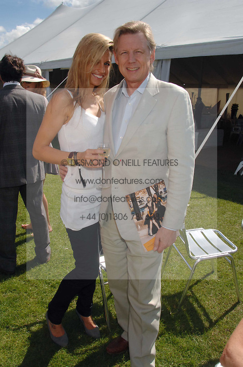 JOHN STEPHENS and JADE BALL at the final of the Veuve Clicquot Gold Cup 2007 at Cowdray Park, West Sussex on 22nd July 2007.<br /><br />NON EXCLUSIVE - WORLD RIGHTS