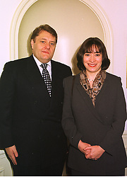MR & MRS JOHN HAYES he is the MP at a lunch in london on 10th December 1998.MMW 31