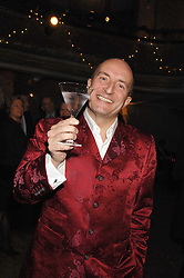 KIT HESKETH-HARVEY at a reception to Discover Wilton's Music Hall held at the hall in Graces Alley, London E1 on 5th December 2007.<br />