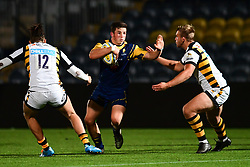 Will Butler of Worcester Cavaliers in action  - Mandatory by-line: Craig Thomas/JMP - 23/10/2017 - RUGBY - Sixways Stadium - Worcester, England - Worcester Cavaliers v Wasps - Aviva A League