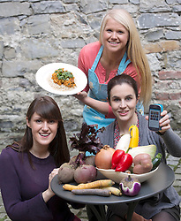 Repro Free: released 18/03/2014 <br /> Entrepreneur Sophie Morris is Pictured at the launch of the Foodcloud Feast with founders Iseult Ward and Aoibheann O&rsquo;Brien. The new and exciting event aims to inform and inspire people about the challenges and opportunities surrounding food waste in Ireland. The Foodcloud Feast will take place at 6.30pm at Smock Alley in Temple Bar, Dublin on 2nd April 2014 and there are a limited number of tickets available to the public through www.tickets.ie. Picture Andres Poveda