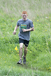 """(Kingston, Ontario---16/05/09) """"Riley Moss finished 8 in the men's 10-12 km Enduro Race at the 2009 Salomon 5 Peaks Trail Running series Race held in Kingston, Ontario as part of the Eastern Ontario/Quebec division.""""  Copyright photograph Sean Burges/Mundo Sport Images, 2009. www.mundosportimages.com / www.msievents.com."""