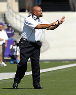 Kansas State head coach Ron Prince against Marshall at Bill Snyder Family Stadium in Manhattan, Kansas, September 16, 2006.  The Wildcats beat the Thundering Herd 23-7.