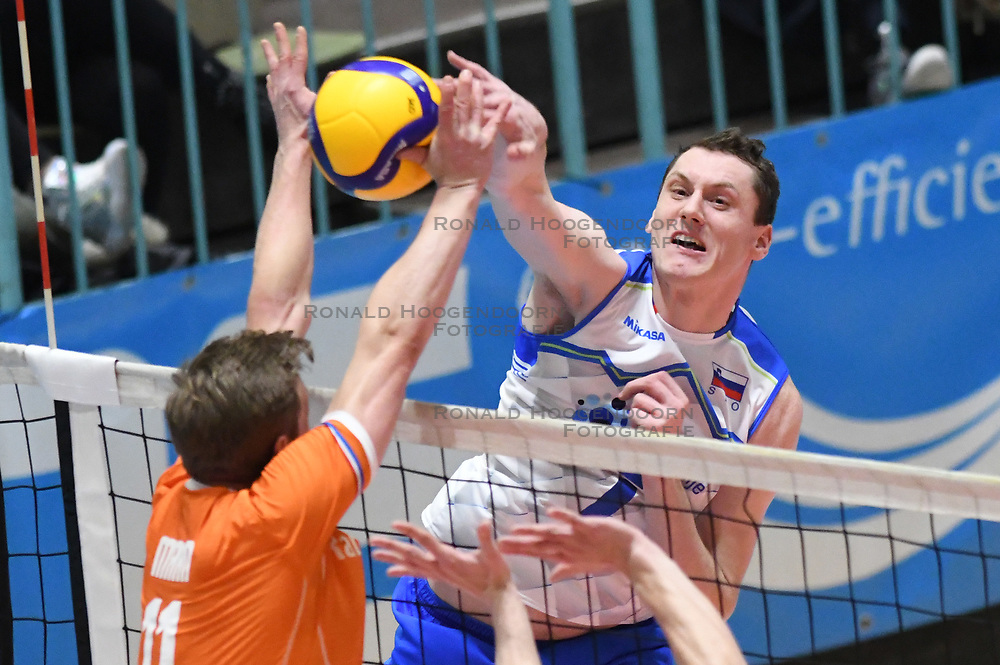 02-01-2020 SLO: Slovenia - Netherlands, Maribor<br /> Toncek Stern of Slovenia during friendly volleyball match between National Men teams of Slovenia and Netherlands