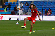 Wales defender Ethan Ampadu during the UEFA European 2020 Qualifier match between Wales and Azerbaijan at the Cardiff City Stadium, Cardiff, Wales on 6 September 2019.