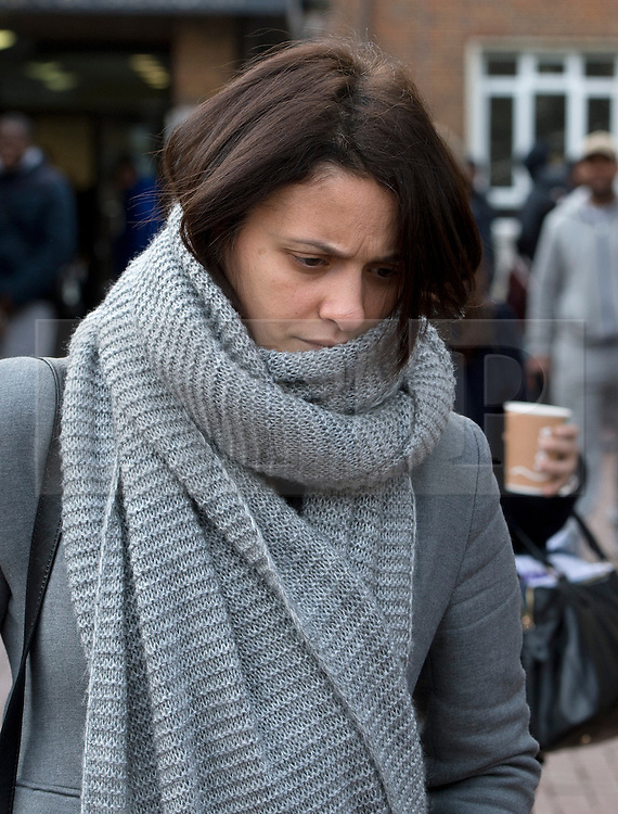 ©  London News Pictures. 25/11/2013. London, UK. Italian  Elisabetta 'Lisa'  Grillo, one of two sisters who are the former personal assistants to Charles Saatchi and Nigella  Lawson, arriving at Isleworth Crown Court in London. The pair, who face fraud charges, are accused of misappropriating funds while working for Saatchi and Lawson. Photo credit : Ben Cawthra/LNP