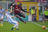 Milan v Pescara - Serie A - 30/10/2016