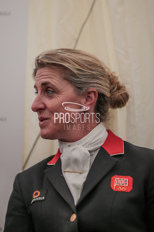 Kristina Cook who came second in the British Equestrian Trade Association CIC*** at Bramham International Horse Trials 2016 at  at Bramham Park, Bramham, United Kingdom on 12 June 2016. Photo by Mark P Doherty.