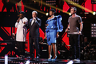 Coaches will i am, Tom Jones, Jennifer Hudson and Gavin Rossdale performing