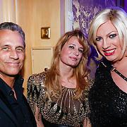 NLD/Amsterdam/20121112 - Beau Monde Awards 2012, Robert Schoemacher, Claudia van Zweden en Mayday