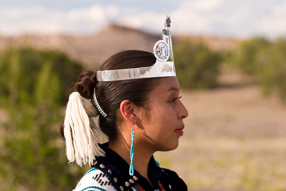 A. Fern Spencer, Miss Eastern Navajo 2003- 2004