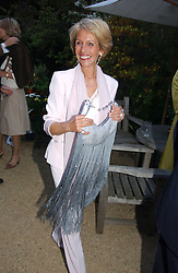 The DUCHESS OF MARLBOROUGH at the annual Cartier Flower Show Diner held at The Physics Garden, Chelsea, London on 23rd May 2005.<br /><br />NON EXCLUSIVE - WORLD RIGHTS