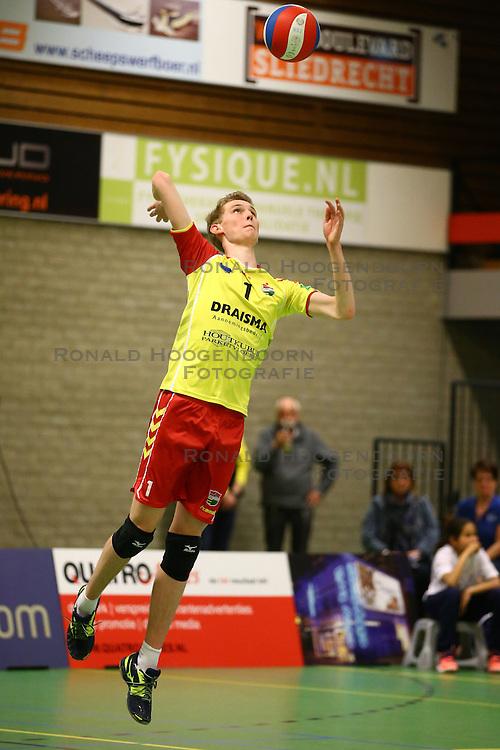 20160326 NED: Volleybal: Sliedrecht Sport - SV Dynamo 2, Sliedrecht  <br />Rik Wagendorp