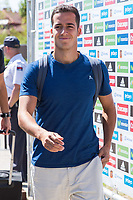 Spanish player Lucas Vazquez arrives to concentration of Spanish football team at Ciudad del Futbol de Las Rozas before the qualifying for the Russia world cup in 2017 August 29, 2016. (ALTERPHOTOS/Rodrigo Jimenez)