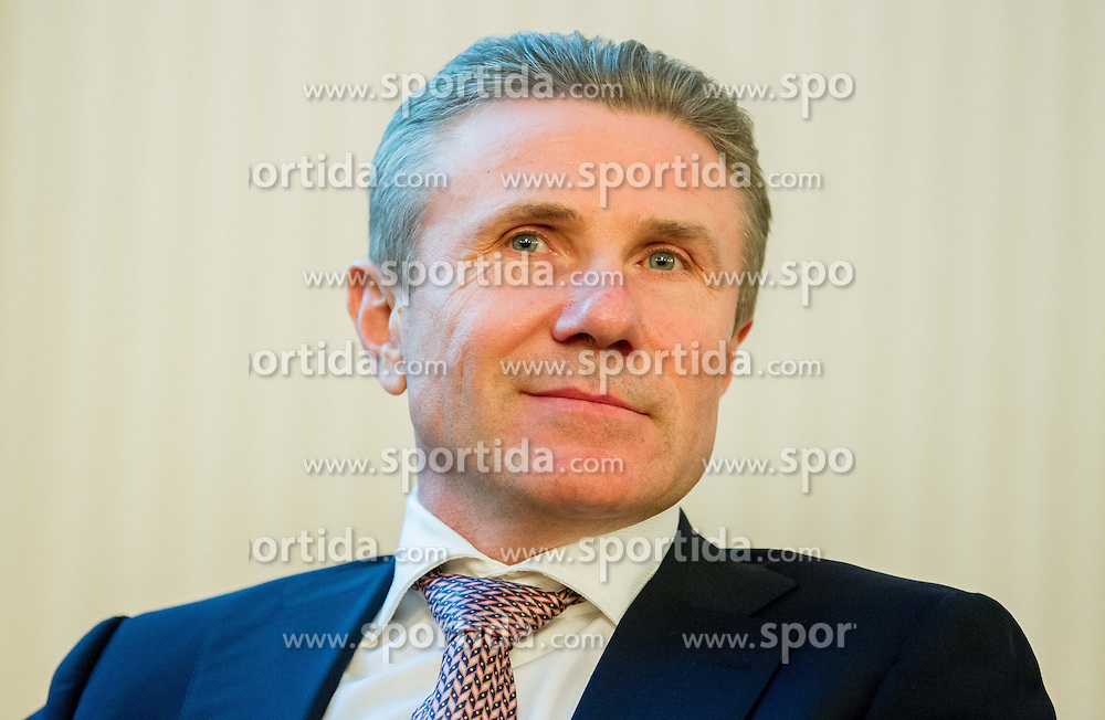 Visit of Sergey Bubka in Slovenia and his meeting with young athletes on November 8, 2013 in Grand Hotel Toplice, Bled, Slovenia. Photo by Vid Ponikvar / Sportida