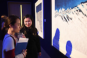 BING BING DAI; SHERRY ZHANG; THAW, An exhibition of photographs of the arctic polar ice cap by Timo Lieber. Bonhams. New Bond St. London. 21 February 2017