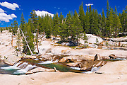 The Tuolumne River, Tuolumne Meadows area, Yosemite National Park, California