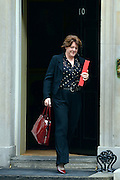 © Licensed to London News Pictures. 11/09/2012. Westminster, UK Secretary of State for Culture, Olympics, Media and Sport - Maria Miller. MP's arrive for Cabinet at number 10 Downing Street today 11/09/12. Photo credit : Stephen Simpson/LNP