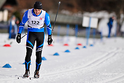 OMAROV Yerlan, KAZ at the 2014 IPC Nordic Skiing World Cup Finals - Middle Distance