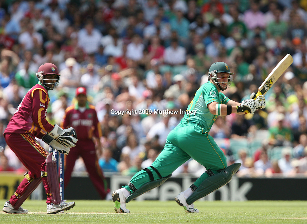 Graeme Smith of South Africa batting. West Indies v South Africa, World T20, Cricket, The Oval, 13/06/2009 © Matthew Impey/Wiredphotos.co.uk. tel: 07789 130 347 email: matt@wiredphotos.co.uk