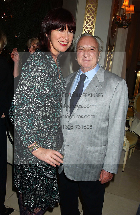 JANET STREET-PORTER and MICHAEL WINNER at The Business Winter Party hosted by Andrew Neil at The Ritz Hotel, Piccadilly, London on 7th December 2005.<br /><br />NON EXCLUSIVE - WORLD RIGHTS