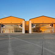 F-22 Hangar, Hickam AFB, Honolulu, Oahu, Hawaii