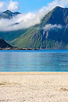 Norway, Lofoten. Haukland is located south of Uttakleiv and do also have some fantastic beaches.