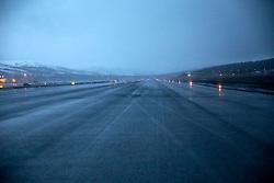 NORWAY BARENTS SEA 6DEC15 - Tromso airport runway.<br /> <br /> jre/Photo by Jiri Rezac / Greenpeace<br /> <br /> © Jiri Rezac 2015