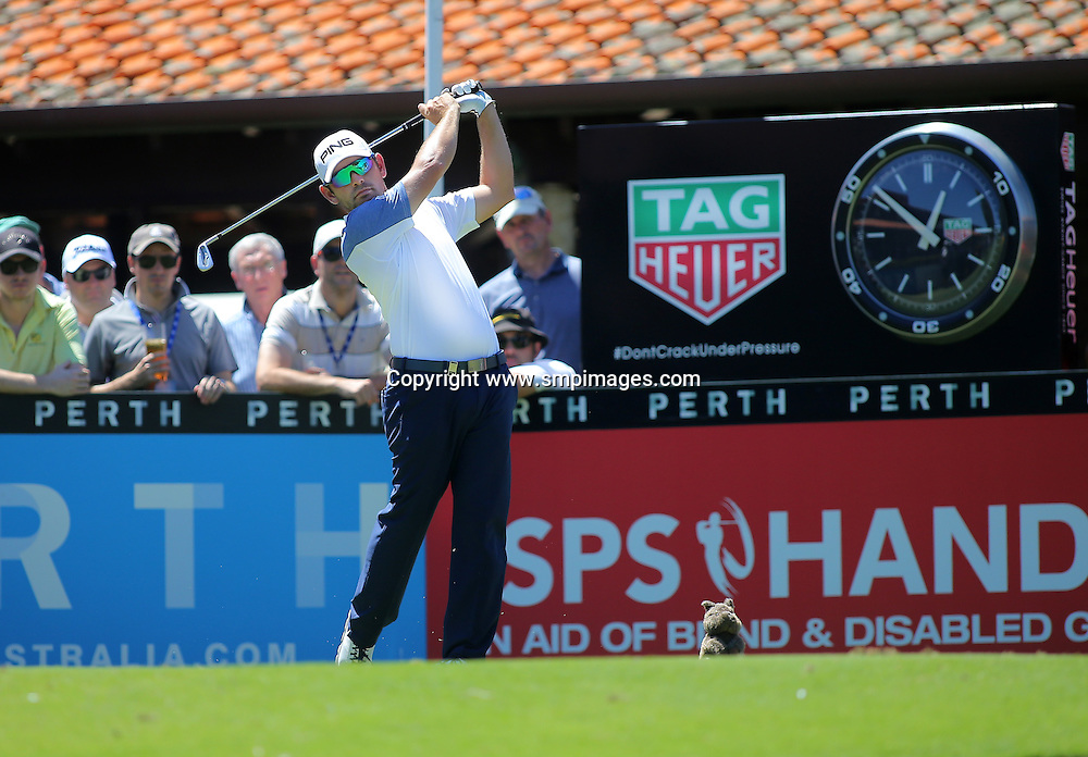 LOUIS OOZTHUIZEN- Action from 2016 ISPS Handa Perth International held at Lake Karrinyup Country Club, Perth Western Australia<br /> Photo: Wendy van den Akker SMP Images/ IMG Media/ PGA Media