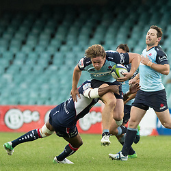 Michael Hooper of the Waratahs during the super rugby match between Waratahs and the Rebels Allianz Stadium 21 May 2017(Photo by Mario Facchini -Steve Haag Sports)