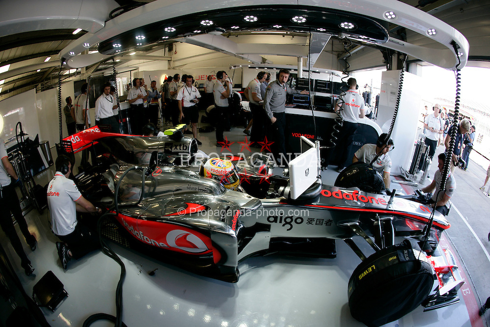 Motorsports / Formula 1: World Championship 2010, GP of Great Britain, 02 Lewis Hamilton (GBR, Vodafone McLaren Mercedes),