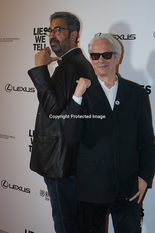 London, England, UK. 21th September 2017. Elliot Grove founder of Raindance attend Lies We Tell Film Premiere at Vue Leicester Square