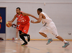 Dwayne Lautier-Ogunleye of Bristol Flyers - Photo mandatory by-line: Alex James/JMP - Mobile: 07966 386802 - 28/03/2015 - SPORT - Basketball - Bristol - SGS Wise Campus - Bristol Flyers v London Lions - British Basketball League