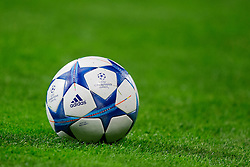 Offical ball before football match between GNK Dinamo Zagreb and Olympiakos in Group F of Group Stage of UEFA Champions League 2015/16, on October 20, 2015 in Stadium Maksimir, Zagreb, Croatia. Photo by Urban Urbanc / Sportida