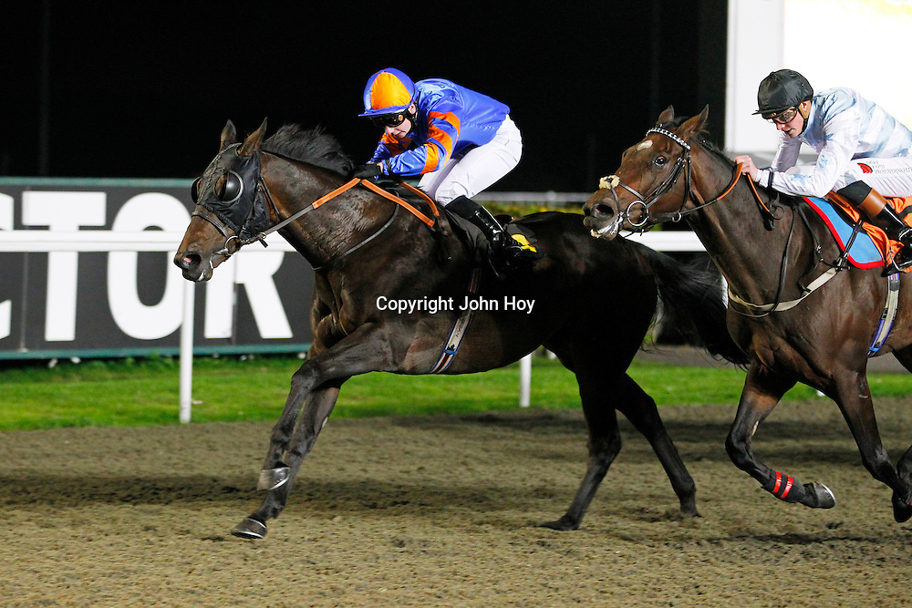 Lowther and Oisin Murphy winning the 8.20 race