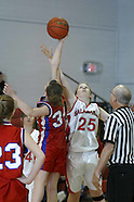 Basketball 2009 Girls Salamanca  JV Basketball vs Cass Valley