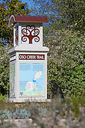 Oso Creek Trail Monument In Mission Viejo California
