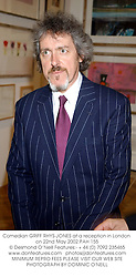 Comedian GRIFF RHYS-JONES at a celebration of The Arts attended by HM The Queen and held at The Royal Academy of Art, Burlington House, Piccadilly, London W1 on 22nd May 2002.