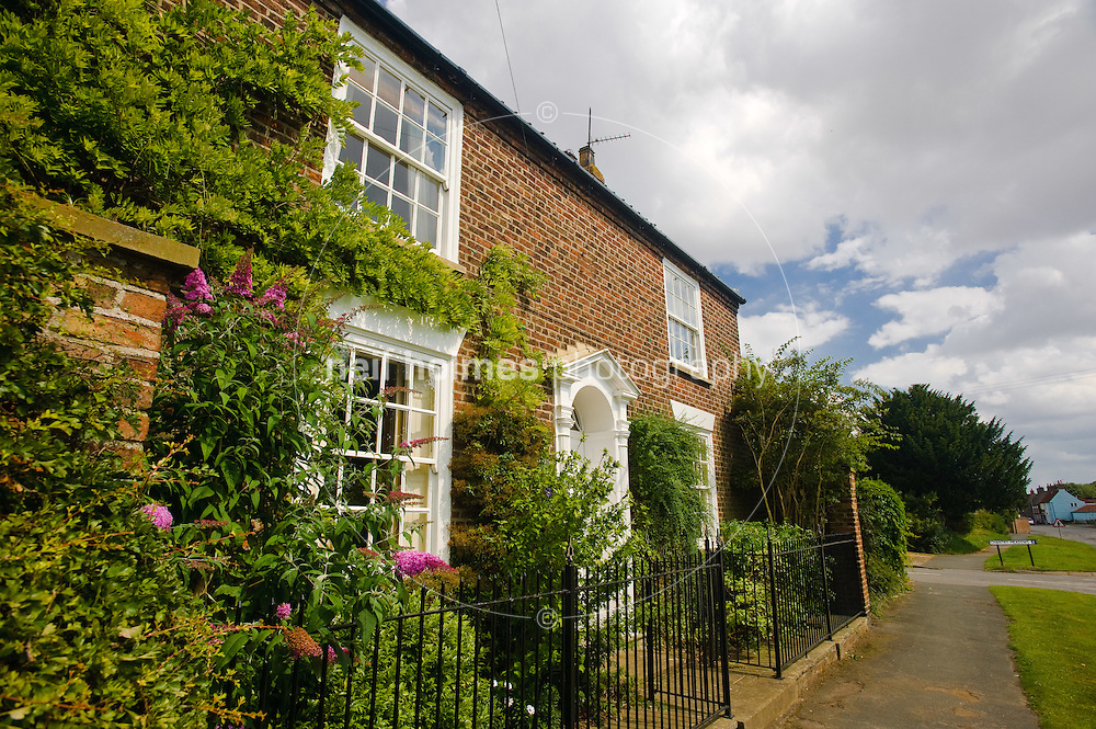 Houses on Middle Street, Kilham village East Yorkshire