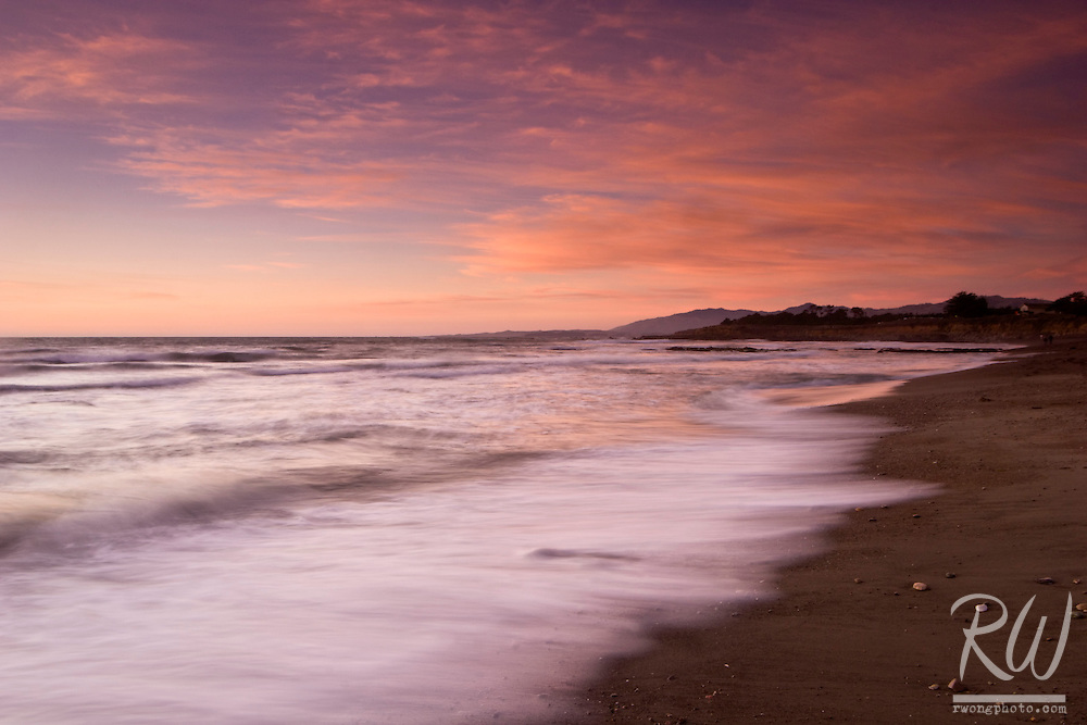 Moonstone Beach Sunset, Cambria, California