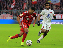 08.12.2018, 1.BL, FCB vs 1.FC Nuernberg, Allianz Arena Muenchen, Fussball, Sport, im Bild:..Serge Gnabry (FCB) vs Virgil Misidjan ( 1.FC Nuernberg )..DFL REGULATIONS PROHIBIT ANY USE OF PHOTOGRAPHS AS IMAGE SEQUENCES AND / OR QUASI VIDEO...Copyright: Philippe Ruiz..Tel: 089 745 82 22.Handy: 0177 29 39 408.e-Mail: philippe_ruiz@gmx.de. (Credit Image: © Philippe Ruiz/Xinhua via ZUMA Wire)