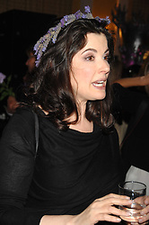 NIGELLA LAWSON at the 10th Anniversary Party of the Lavender Trust, Breast Cancer charity held at Claridge's, Brook Street, London on 1st May 2008.<br />