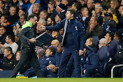 Tottenham Hotspur Manager Mauricio Pochettino gestures - Photo mandatory by-line: Rogan Thomson/JMP - 07966 386802 - 30/11/2014 - SPORT - FOOTBALL - London, England - White Hart Lane - Tottenham Hotspur v Everton - Barclays Premier League.