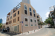 Israel, Tel Aviv, Neve Tzedek, established 1887, 22 years before the 1909 founding of the City of Tel Aviv, the first Jewish neighbourhood to be built outside the walls of the ancient port of Jaffa. Abulafya House