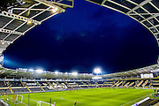 General view of the KC Stadium before the The FA Cup fifth round match between Hull City and Arsenal at the KC Stadium, Kingston upon Hull, England on 8 March 2016. Photo by Mark P Doherty.
